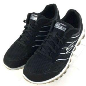 Black  Skechers Sneakers Women's Shoes